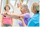 Sport hilft Parkinson-Betroffenen auch bei kognitiven Symptome