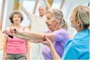 Fitness für Senioren: Kraft- und Balanceübungen vermindern Sturzgefahr