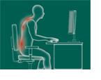 Wenn der Rücken vom vielen Sitzen schmerzt