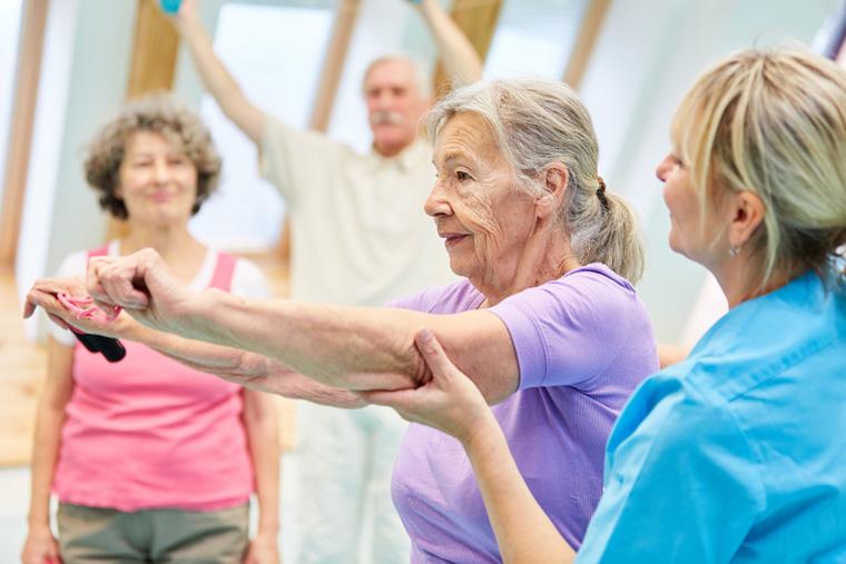 Sport hilft Parkinson-Betroffenen auch bei kognitiven Symptomen