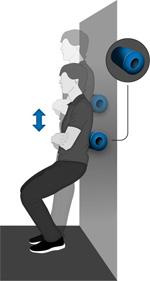 Selbstmassage bei Rückenschmerzen durch zu langes Sitzen