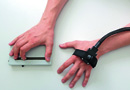 Experimenteller Versuchsaufbau Schmerzverarbeitung