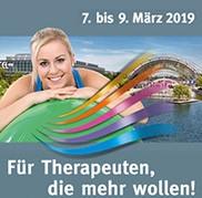 therapie leipzig - Fachmesse mit Kongress für Therapie, Medizinische Rehabilitation und Prävention, 07. bis 09. März 2019, Leipziger Messe